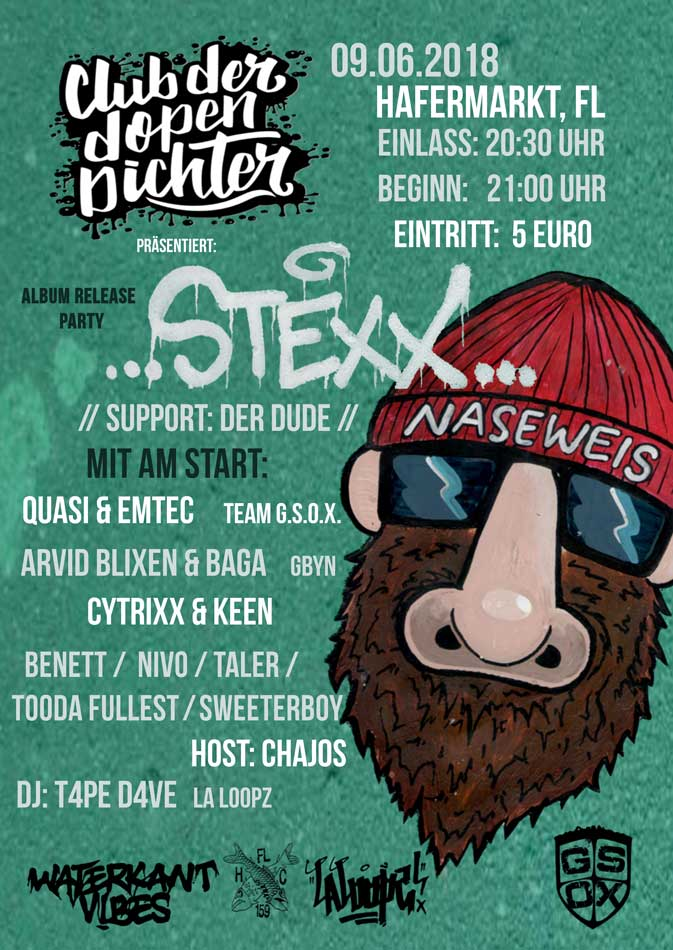 "Releaseparty – Stexx ""Naseweis"""
